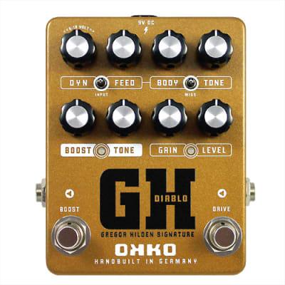 OKKO Diablo GH Signature Overdrive/Boost for sale