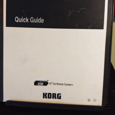 Korg 05R/W manual 90s