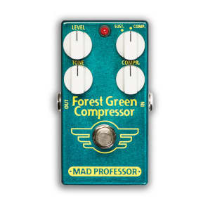 Mad Professor BJF Design Forest Green Compressor for sale