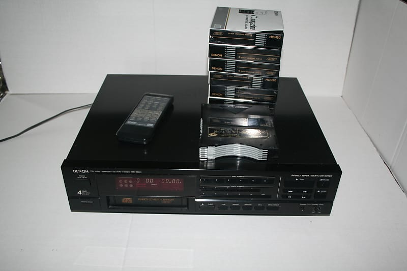 Used Denon DCM-555 CD Players For Sale