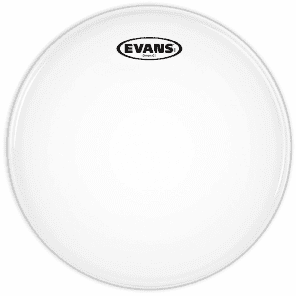"Evans 12"" Genera G1 Clear Clear"