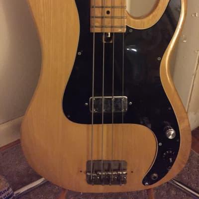 Memphis Vintage Precision Electric  bass guitar oak Japan Lawsuit Precision for sale