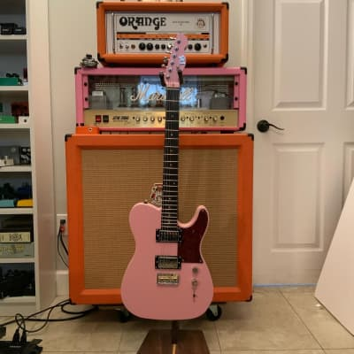 PureSalem Bette - Shell Pink. Mahogany Body & Neck - Ebony Fingerboard for sale