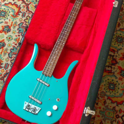 Jerry Jones Danelectro Longhorn copy in turquoise! for sale