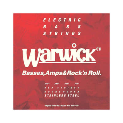 Warwick Red Label 42200 Stainless Steel, 045-105