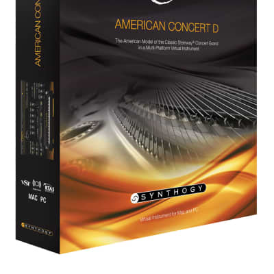 New Synthogy Ivory II American Concert D Software Mac & PC Boxed Version