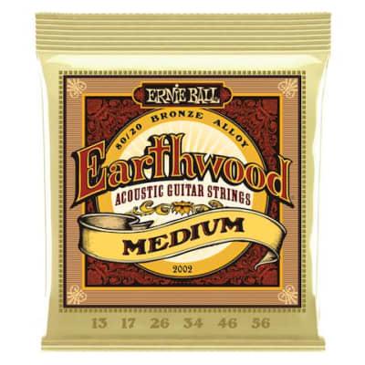 Ernie Ball 2002 13-56 Acoustic Earthwood Strings