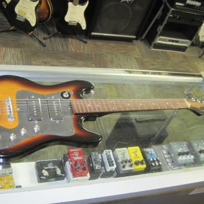 Imperial  HH Modified Electric Guitar Tobacco Burst for sale