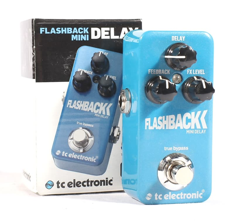 tc electronic flashback mini delay concert musical supply reverb. Black Bedroom Furniture Sets. Home Design Ideas