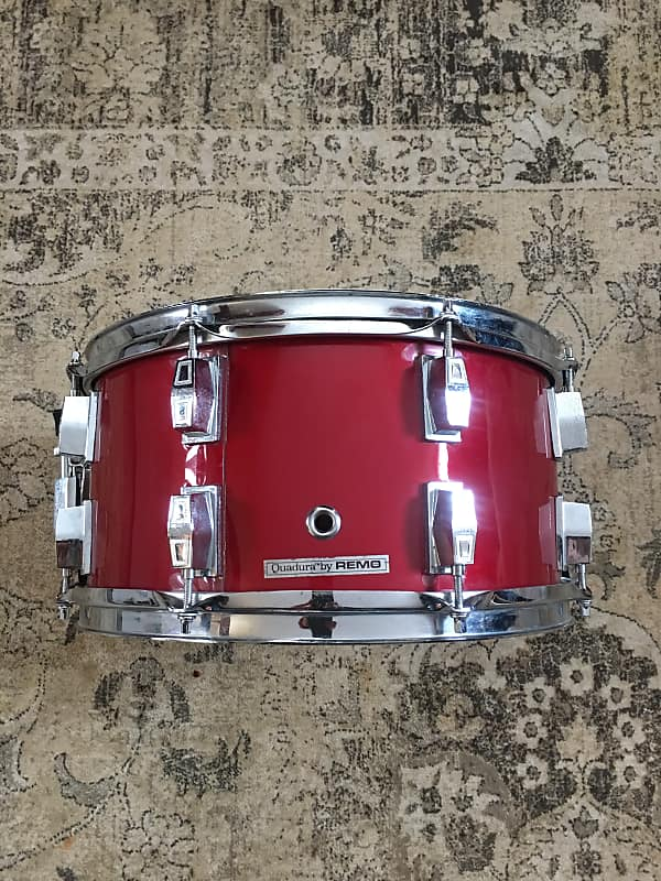 Remo Snare Drum : remo 7x14 acousticon snare drum red the drum fixx reverb ~ Hamham.info Haus und Dekorationen