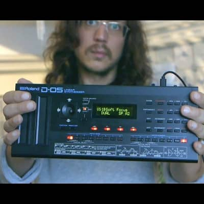 Legowelt Artist Patch For The Roland Boutique D-05 Linear Synthesizer