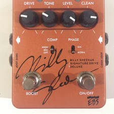 EBS Billy Sheehan Signature Drive v.2 Orangish