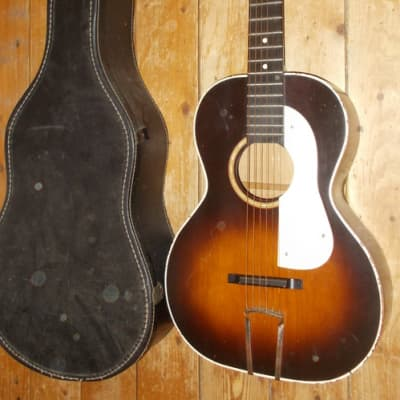 1940's Paramount Parlor Guitar With Original Case for sale