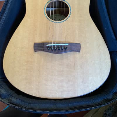 Ayers TD-04 Travel Acoustic Guitar w Bag! for sale