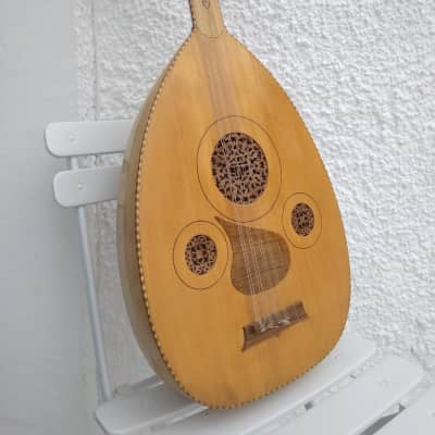 Handmade Persian 11 string Oud/Lute  made to order in Iran in 2001