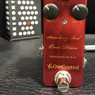 One Control Strawberry Red Overdrive - New In Box! for sale