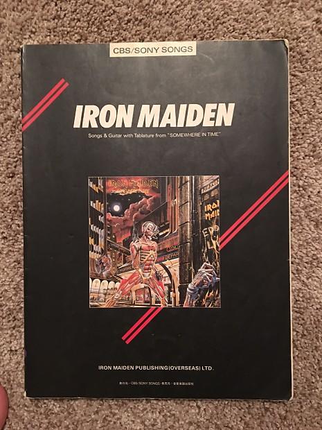 Description Shop Policies Guitar Tab Book For The Iron Maiden