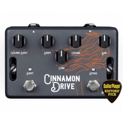 Aclam Cinnamon Drive Dual Stage Overdrive Pedal