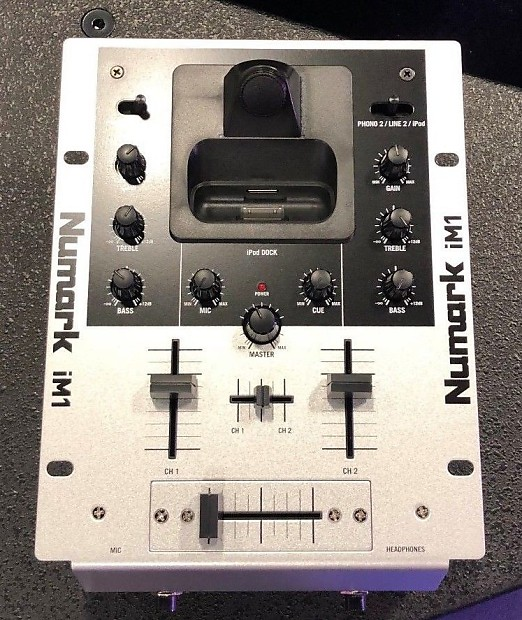 Numark iM1 2-Channel DJ Mixer with Dock for iPod