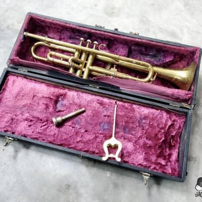 "Conn / Musicraft ""Stencil Horn"" Bb Trumpet (1920s, Lacquered Brass)"