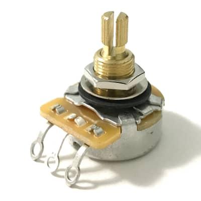 250K Guitar Pot Audio 24mm Brass Sleeve CTS 450GT3