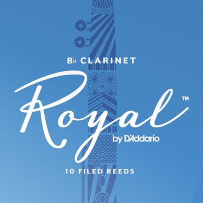 Royal Clarinet Reeds Strength 3.5, Box of 10