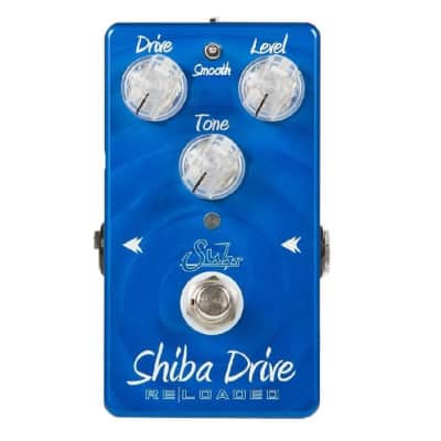 Suhr Shiba Drive Reloaded Overdrive Guitar Effects Pedal Blues, Jazz & Rock Distortions