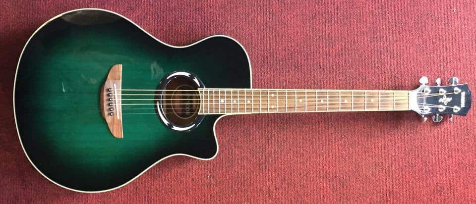 Yamaha Apx500ii Thinline Electro Acoustic Guitar Trans