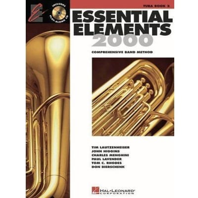 Essential Elements 2000: Comprehensive Band Method - Tuba | Book 2 (w/ CD)