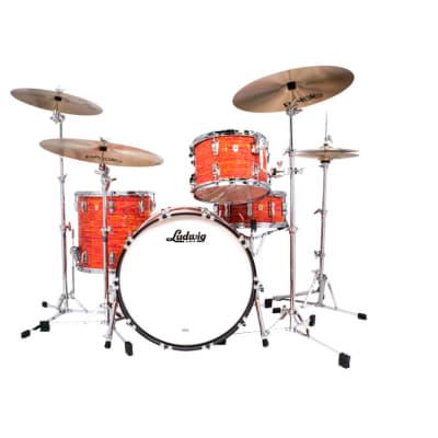 Ludwig Classic Maple Fab Drum Set Mod Orange