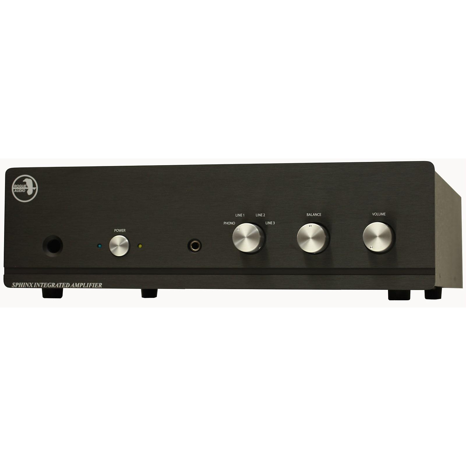 Rogue Audio Sphinx V3 100 Watt Per Channel Integrated Amplifier w/ Remote - Black