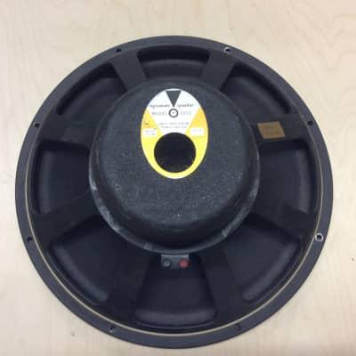 JBL D15S 1968 D130 Speaker 15 inch Bass  Sunn / Fender 16 om fresh weber speaker recone #2 for sale