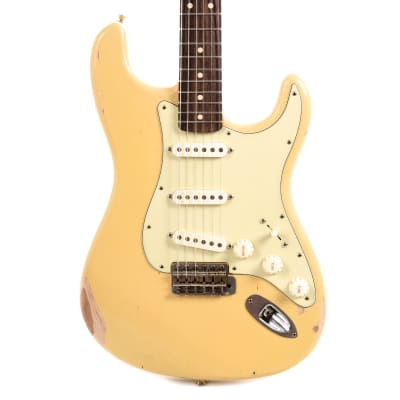 Nash S-63 Ash Cream Medium Relic w/3-Ply Mint Pickguard & Lollar Pickups (Serial #NG5248)