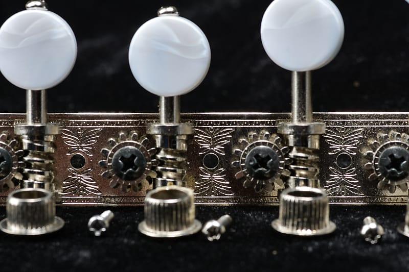 Nickel, MP Gotoh MF40 F Style Mandolin Tuners
