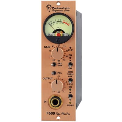 Fredenstein F609 500 Series Tube Microphone Preamp