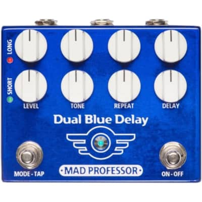 Mad Professor Dual Blue Delay Guitar Effect Pedal for sale