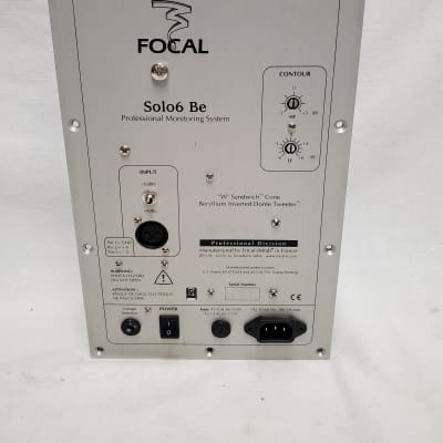 Focal SOLO6 Be Power Amp #878 Bass Distrots At Low Volume -Final Sale - Needs Repair -