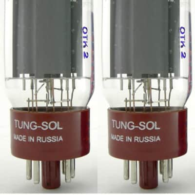 New Matched Pair (2) Tung-Sol Reissue 5881  Vacuum Tubes