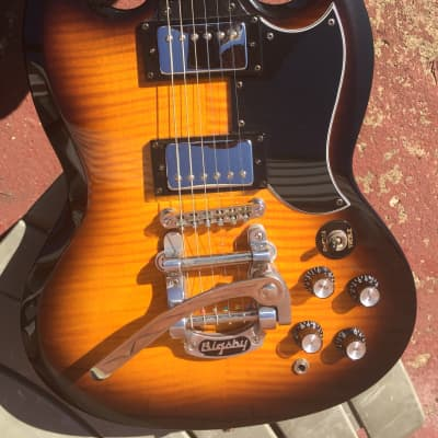 Epiphone G-400  Sunburst W/Bigsby 2001 for sale