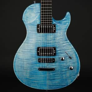 Vigier GV Wood in Stonewash Blue Matte with Case #0431 for sale