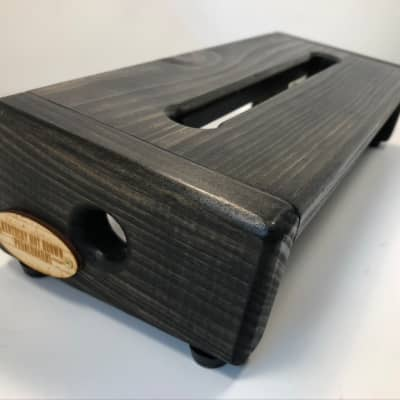 Hot Box Mini Pedalboard - Ebony Stain By KYHBPB - Available Now