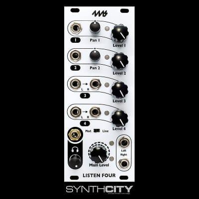 4ms Listen 4 Mixer Module