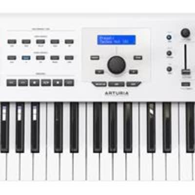 Arturia Keylab 61 MKII 61 Key Controller Keyboard in White