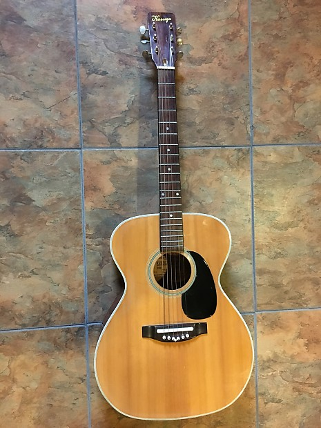 Vintage 1972 Kasuga Kf 420 Acoustic Guitar Made In Japan