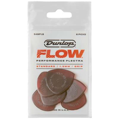 Dunlop Flow Standard Picks 6-Pack, 549P - 1.5