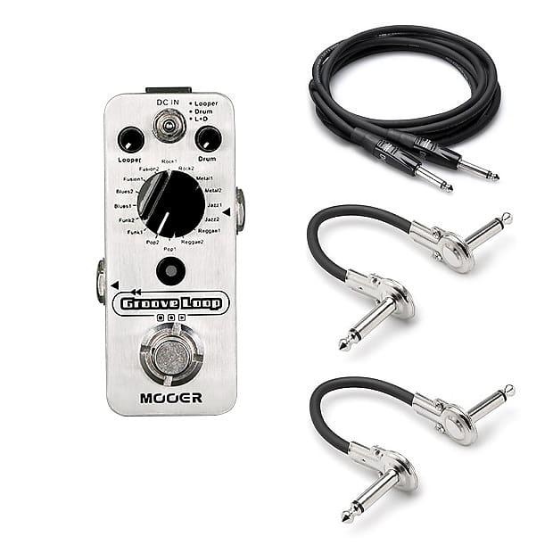 New Mooer Groove Loop Looper Drum Machine Guitar Effects Pedal! Micro Drummer image