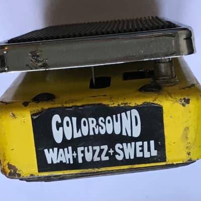 Colorsound Supa Wah-Fuzz-Swell 1973 (Refubished)