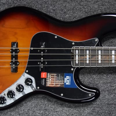 Fender American Elite Jazz Bass 3-Tone SB / Rosewood B-Stock =  Save $50! *NOT Pre-Owned