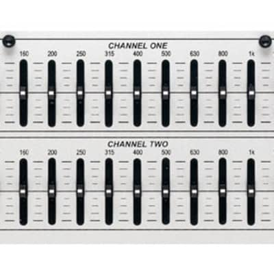 DBX 231S 2-Channel, 31-Band, 1/3 Octave Graphic Equalizer