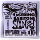 Ernie Ball 2839 Slinky Nickel Wound 6-String Baritone Strings image